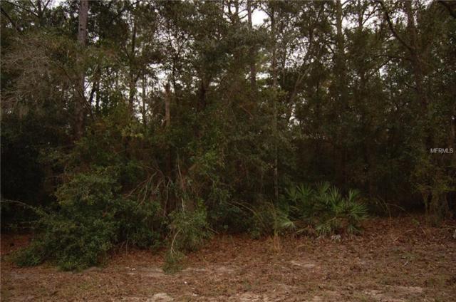 2344 W Ingrid Lane, Citrus Springs, FL 34434 (MLS #D6102825) :: Homepride Realty Services