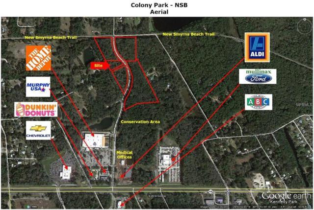 Colony Park Road, New Smyrna Beach, FL 32168 (MLS #E2203998) :: Team Bohannon Keller Williams, Tampa Properties