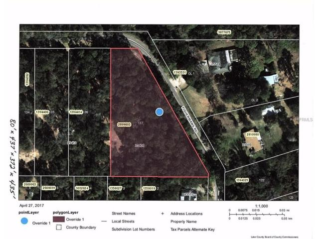 25436 Fishermans Road, Paisley, FL 32767 (MLS #G4842823) :: RE/MAX Realtec Group