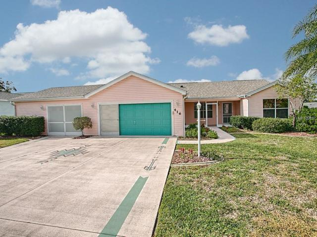 416 San Marino Drive, The Villages, FL 32159 (MLS #G5009454) :: Realty Executives in The Villages