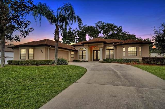 751 Oaks Shores Road, Leesburg, FL 34748 (MLS #G5024086) :: Team Bohannon Keller Williams, Tampa Properties