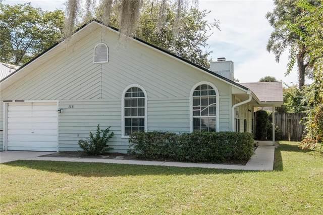 2831 SW 38TH Place, Gainesville, FL 32608 (MLS #GC445142) :: Team Saveela & Ace Remax Professionals
