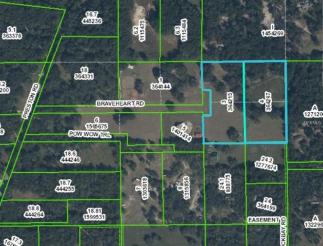 0 Braveheart Road, Brooksville, FL 34601 (MLS #H2203178) :: Cartwright Realty