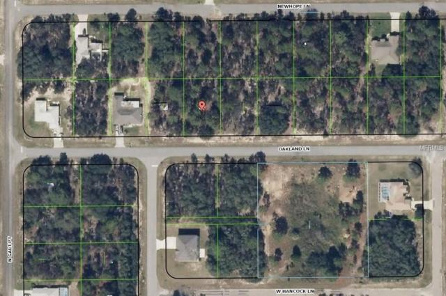 2443 W Oakland Lane, Citrus Springs, FL 34434 (MLS #H2203963) :: The Duncan Duo Team