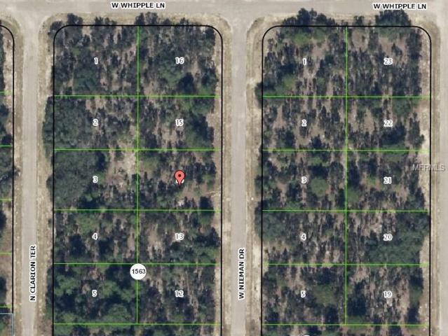 3572 W Nieman Drive, Citrus Springs, FL 34433 (MLS #H2203964) :: The Duncan Duo Team