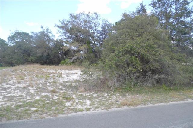 Lot  #17 Sheppard Drive, Lake Wales, FL 33898 (MLS #K4701433) :: GO Realty