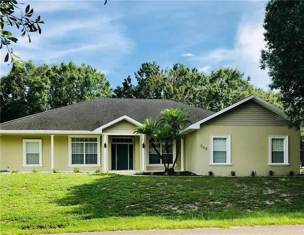 345 Bayberry Drive, Polk City, FL 33868 (MLS #L4916920) :: GO Realty