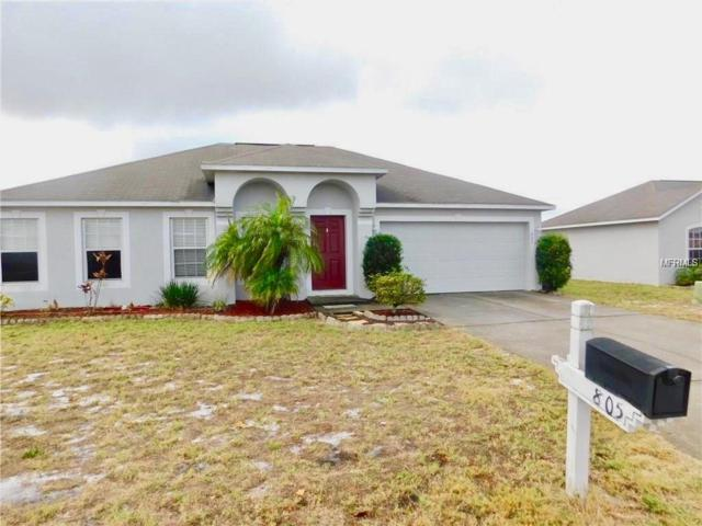 805 Sun Ridge Village Drive, Winter Haven, FL 33880 (MLS #O5561968) :: Team Suzy Kolaz