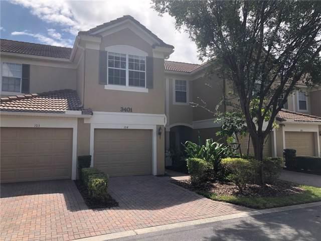3401 Shallot Drive #104, Orlando, FL 32835 (MLS #O5800705) :: Lockhart & Walseth Team, Realtors