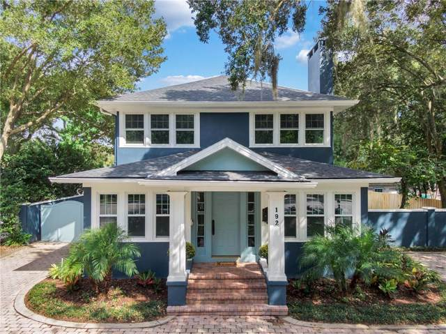 192 Brewer Avenue, Winter Park, FL 32789 (MLS #O5814383) :: Bustamante Real Estate