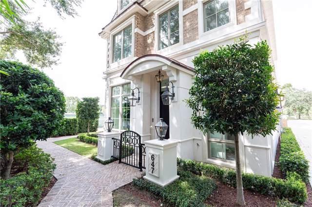 647 N Park Avenue #8, Winter Park, FL 32789 (MLS #O5818580) :: Florida Real Estate Sellers at Keller Williams Realty