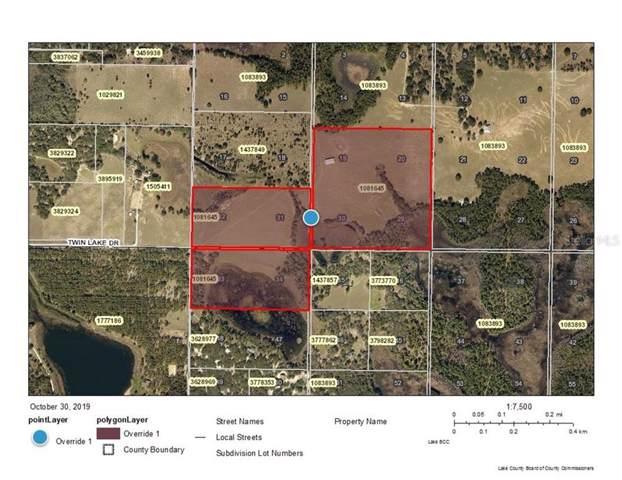 Twin Lake Drive, Groveland, FL 34736 (MLS #O5822517) :: 54 Realty