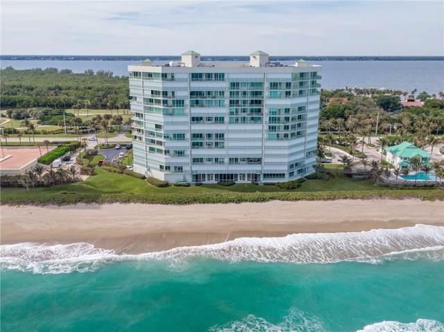 8650 S Ocean Drive #405, Jensen Beach, FL 34957 (MLS #O5827241) :: The Light Team