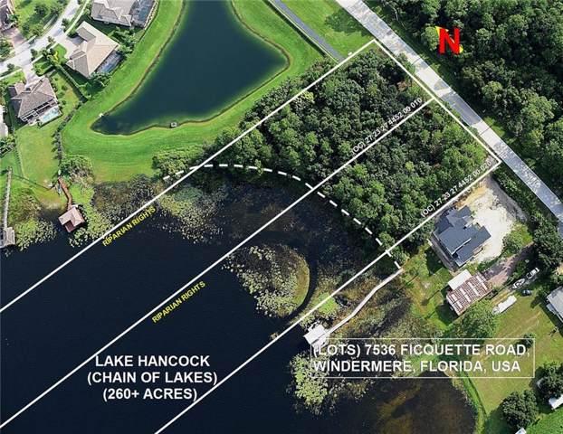 7536 Ficquette Road #2, Windermere, FL 34786 (MLS #O5828167) :: The Duncan Duo Team