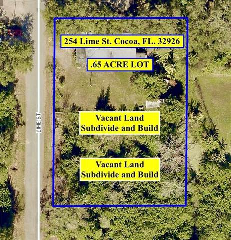 254 Lime Street, Cocoa, FL 32926 (MLS #O5870915) :: The Duncan Duo Team