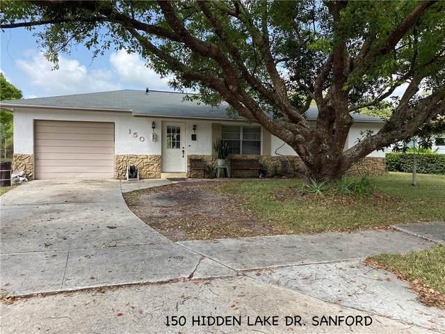 150 Hidden Lake Drive, Sanford, FL 32773 (MLS #O5873160) :: Lockhart & Walseth Team, Realtors