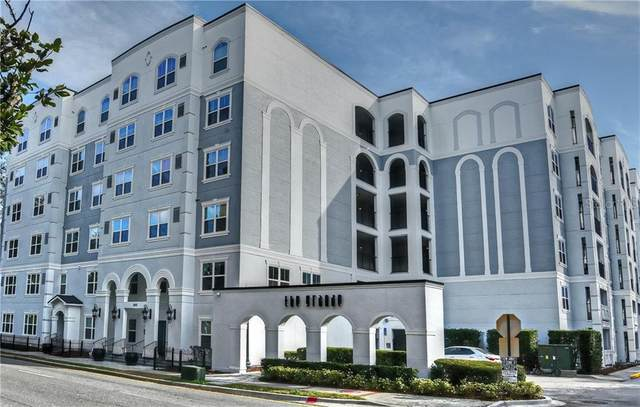 300 E South Street #2001, Orlando, FL 32801 (MLS #O5890914) :: Sarasota Property Group at NextHome Excellence