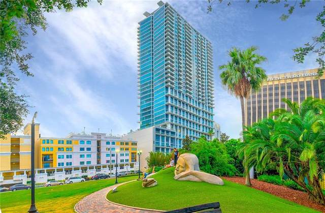 150 E Robinson Street 3410 TOP FLOOR, Orlando, FL 32801 (MLS #O5894467) :: Keller Williams on the Water/Sarasota