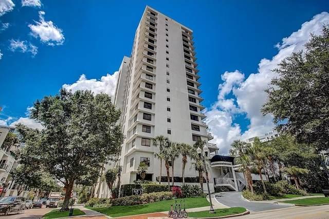 530 E Central Boulevard #1002, Orlando, FL 32801 (MLS #O5943481) :: Sarasota Home Specialists