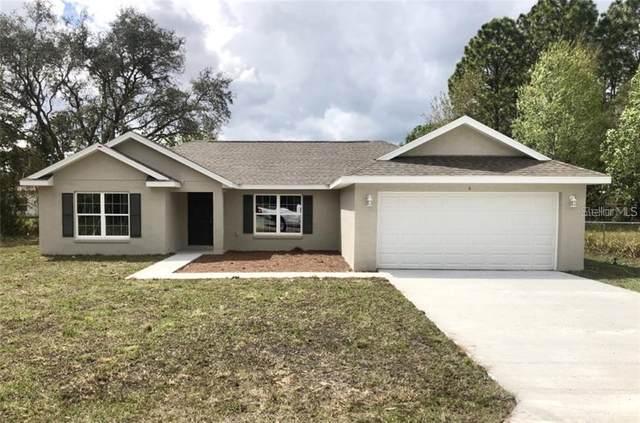 586 W Hummingbird Drive, Citrus Springs, FL 34434 (MLS #OM601401) :: Premium Properties Real Estate Services