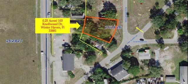 103 Knollwood Dr, Winter Haven, FL 33881 (MLS #P4913068) :: Delgado Home Team at Keller Williams