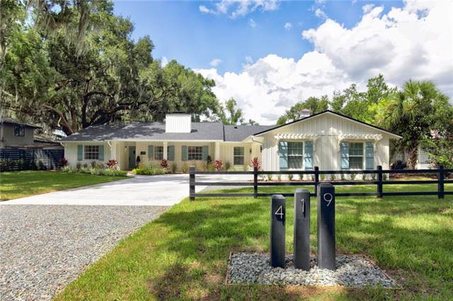 419 W 1ST AVE, Windermere, FL 34786 (MLS #S5023074) :: Lock & Key Realty