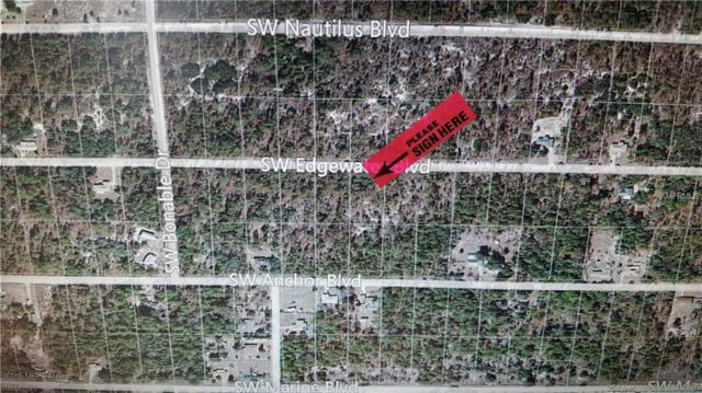 LOT # 15 SW Edgewater Boulevard SW, Dunnellon, FL 34431 (MLS #T2831735) :: The Duncan Duo Team