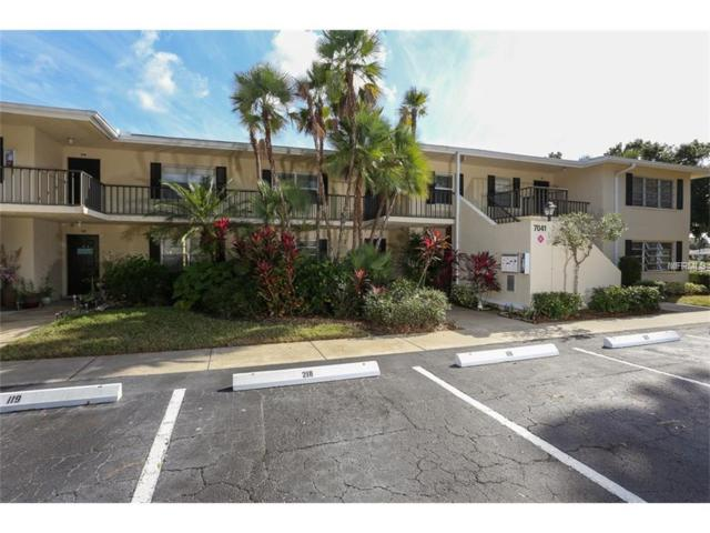 7041 W Country Club Drive N #219, Sarasota, FL 34243 (MLS #T2904849) :: Gate Arty & the Group - Keller Williams Realty