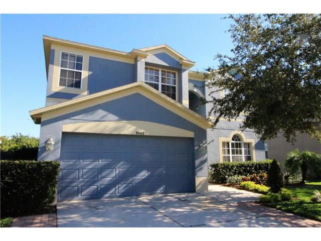 9443 Wellstone Drive, Land O Lakes, FL 34638 (MLS #T2914969) :: Cartwright Realty