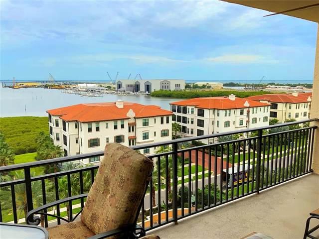 5823 Bowen Daniel Drive #803, Tampa, FL 33616 (MLS #T3306836) :: Team Pepka