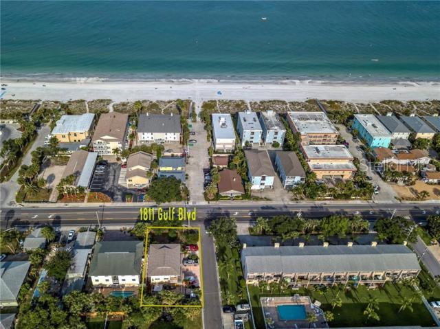 1811 Gulf Boulevard, Indian Rocks Beach, FL 33785 (MLS #U8042458) :: Lockhart & Walseth Team, Realtors