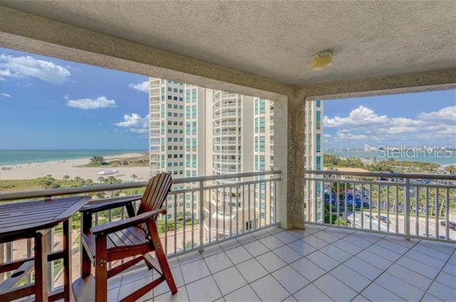 1180 Gulf Boulevard #904, Clearwater, FL 33767 (MLS #U8044626) :: Burwell Real Estate