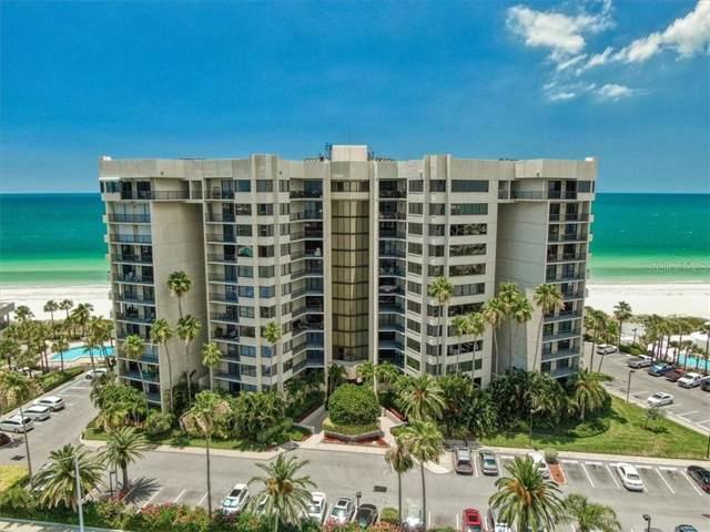 1600 Gulf Boulevard #1017, Clearwater, FL 33767 (MLS #U8048201) :: Medway Realty
