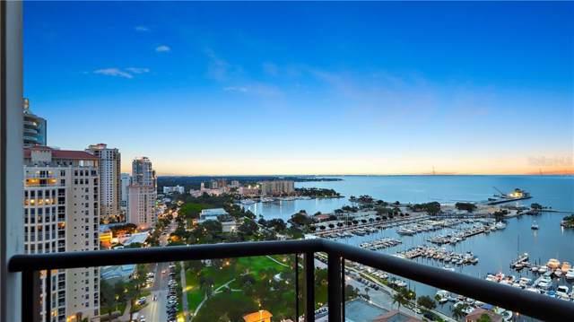 1 Beach Drive SE 2102-2101, St Petersburg, FL 33701 (MLS #U8048434) :: Delgado Home Team at Keller Williams