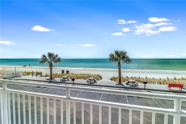 8470 W Gulf Boulevard #203, Treasure Island, FL 33706 (MLS #U8061513) :: Lockhart & Walseth Team, Realtors