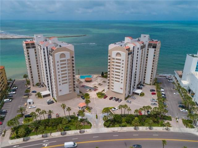 450 S Gulfview Boulevard #1004, Clearwater, FL 33767 (MLS #U8066737) :: Your Florida House Team