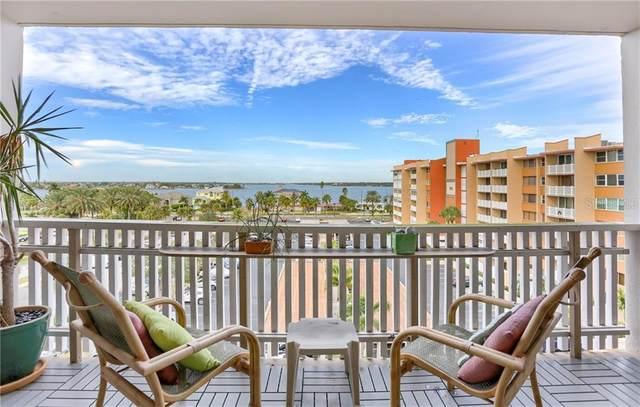 450 Treasure Island Causeway #603, Treasure Island, FL 33706 (MLS #U8069484) :: Premium Properties Real Estate Services