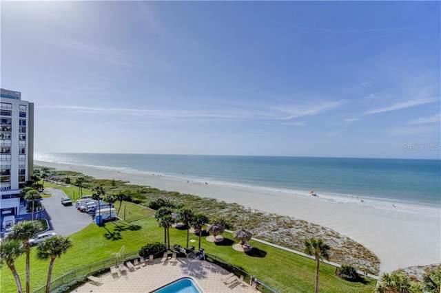 1460 Gulf Boulevard #601, Clearwater, FL 33767 (MLS #U8071691) :: Medway Realty