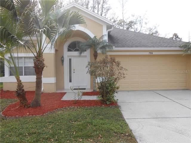 796 Crestridge Drive, Tarpon Springs, FL 34688 (MLS #U8072535) :: Armel Real Estate
