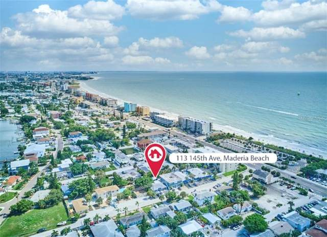 113 145TH Avenue E 1-6, Madeira Beach, FL 33708 (MLS #U8095712) :: Lockhart & Walseth Team, Realtors