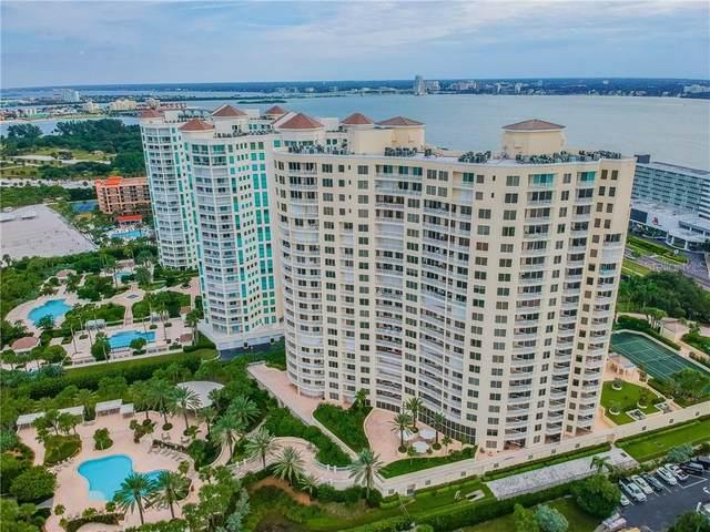 1200 Gulf Boulevard #1805, Clearwater, FL 33767 (MLS #U8098071) :: Cartwright Realty