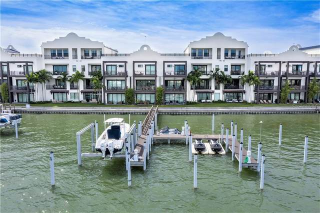 182 Brightwater Drive #5, Clearwater Beach, FL 33767 (MLS #U8098287) :: Burwell Real Estate