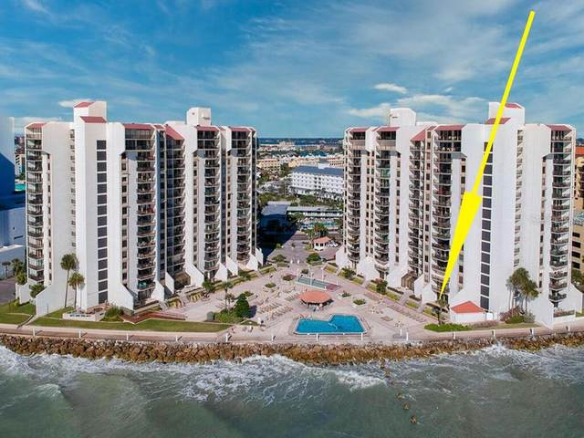 450 S Gulfview Boulevard #206, Clearwater, FL 33767 (MLS #U8110802) :: Positive Edge Real Estate