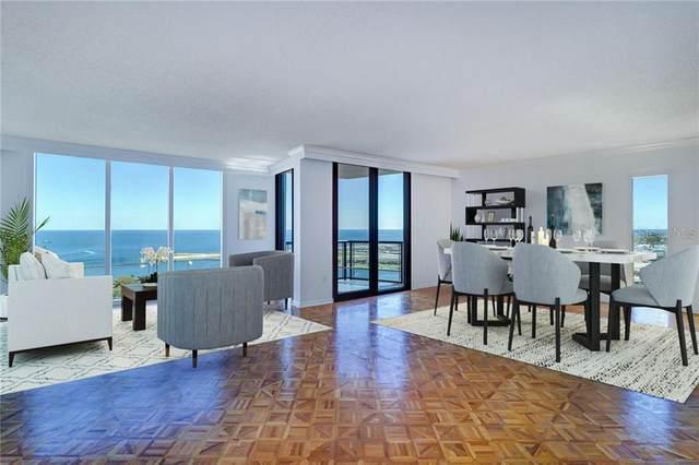 1 Beach Drive SE #2306, St Petersburg, FL 33701 (MLS #U8115640) :: Gate Arty & the Group - Keller Williams Realty Smart