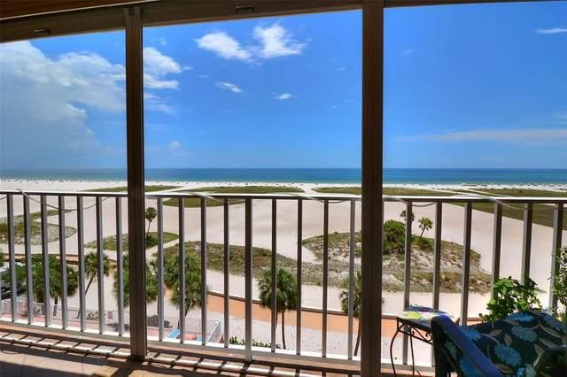 11000 Gulf Boulevard #705, Treasure Island, FL 33706 (MLS #U8129777) :: CGY Realty