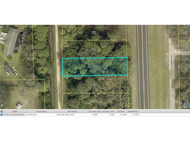 2249 Joel Boulevard, Alva, FL 33920 (MLS #W7618578) :: Cartwright Realty
