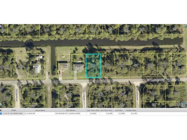 933 Butler Street E, Lehigh Acres, FL 33974 (MLS #W7618583) :: The Duncan Duo Team