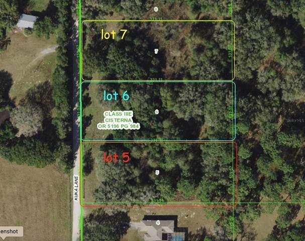 0 Kuka (Lot 6) Lane, Spring Hill, FL 34610 (MLS #W7833195) :: Zarghami Group