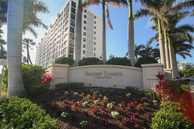 11 Sunset Drive #707, Sarasota, FL 34236 (MLS #A4211599) :: The Duncan Duo Team