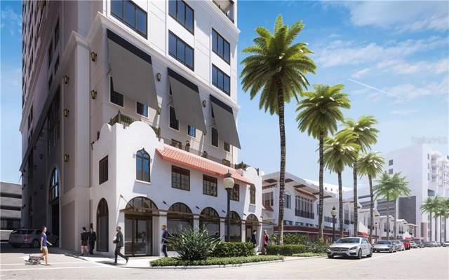 33 S Palm Avenue #804, Sarasota, FL 34236 (MLS #A4438773) :: The Figueroa Team
